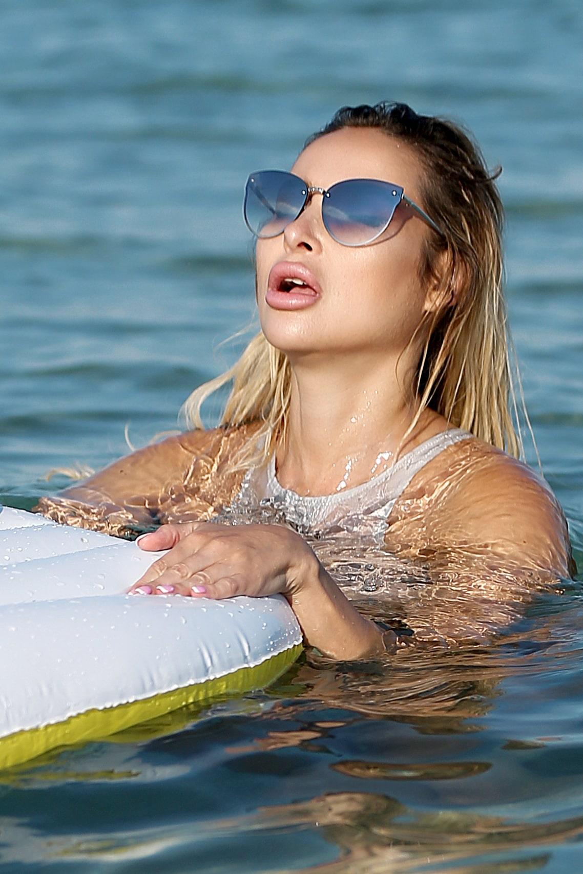 Sexy cute sheer one piece thong swimsuit. See through high neck bathing suit. Erotic women bodysuit. Hot high leg monokini Designer swimwear