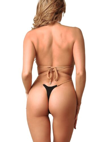 Sexy cute one piece thong swimsuit monokini. Extreme high cut leg rave bodysuit. Cheeky stripper outfits. Designer high neck women swimwear.