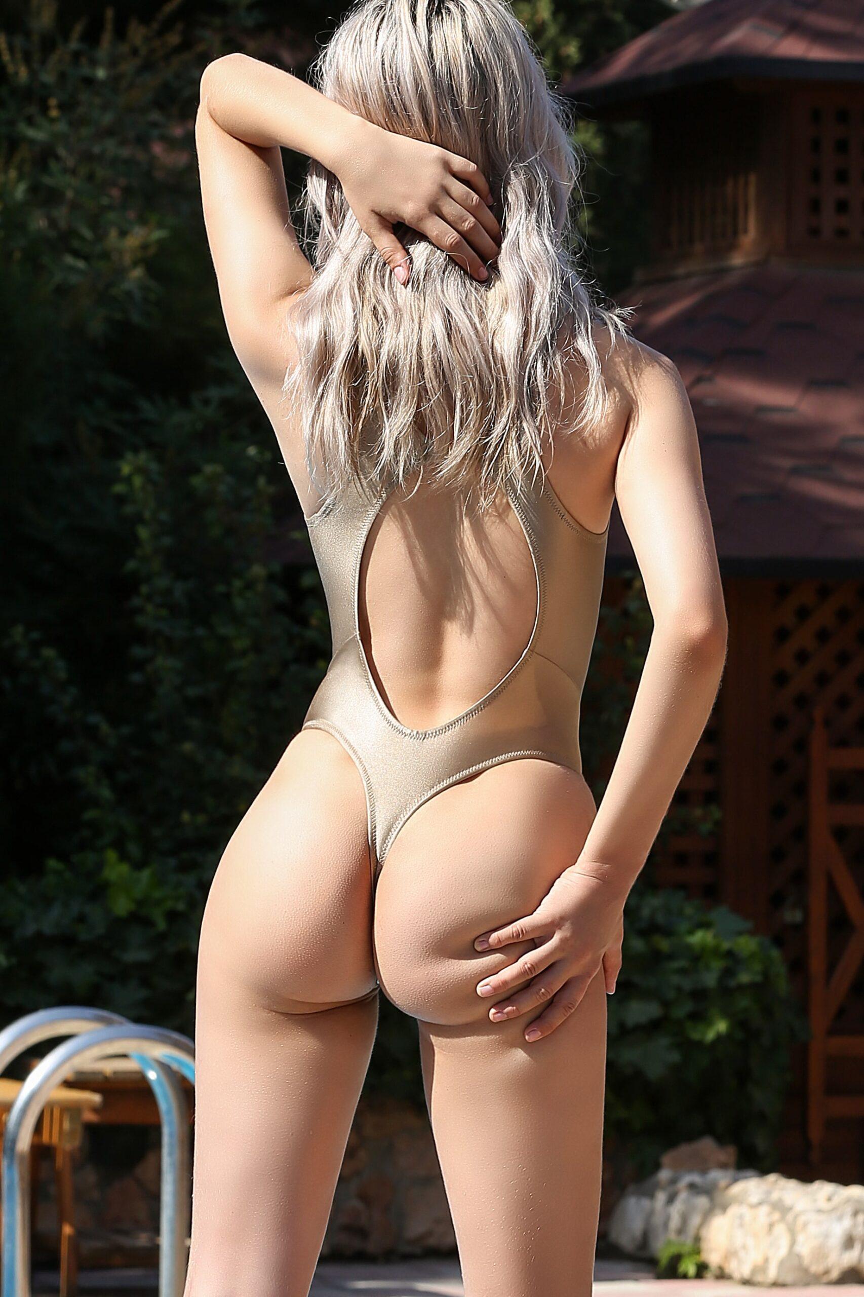 Sexy sheer when wet rave thong bodysuit. Hot see through high cut leg one piece swimwear monokini. Cute cheeky designer women swimsuit.