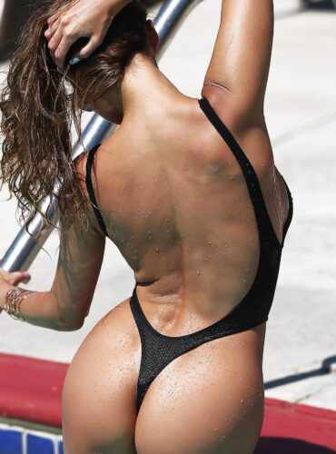Sexy see through one piece swimsuit thong. High cut leg women black swimwear monokini. Cute mesh sheer bodysuit. Erotic bathing suit.