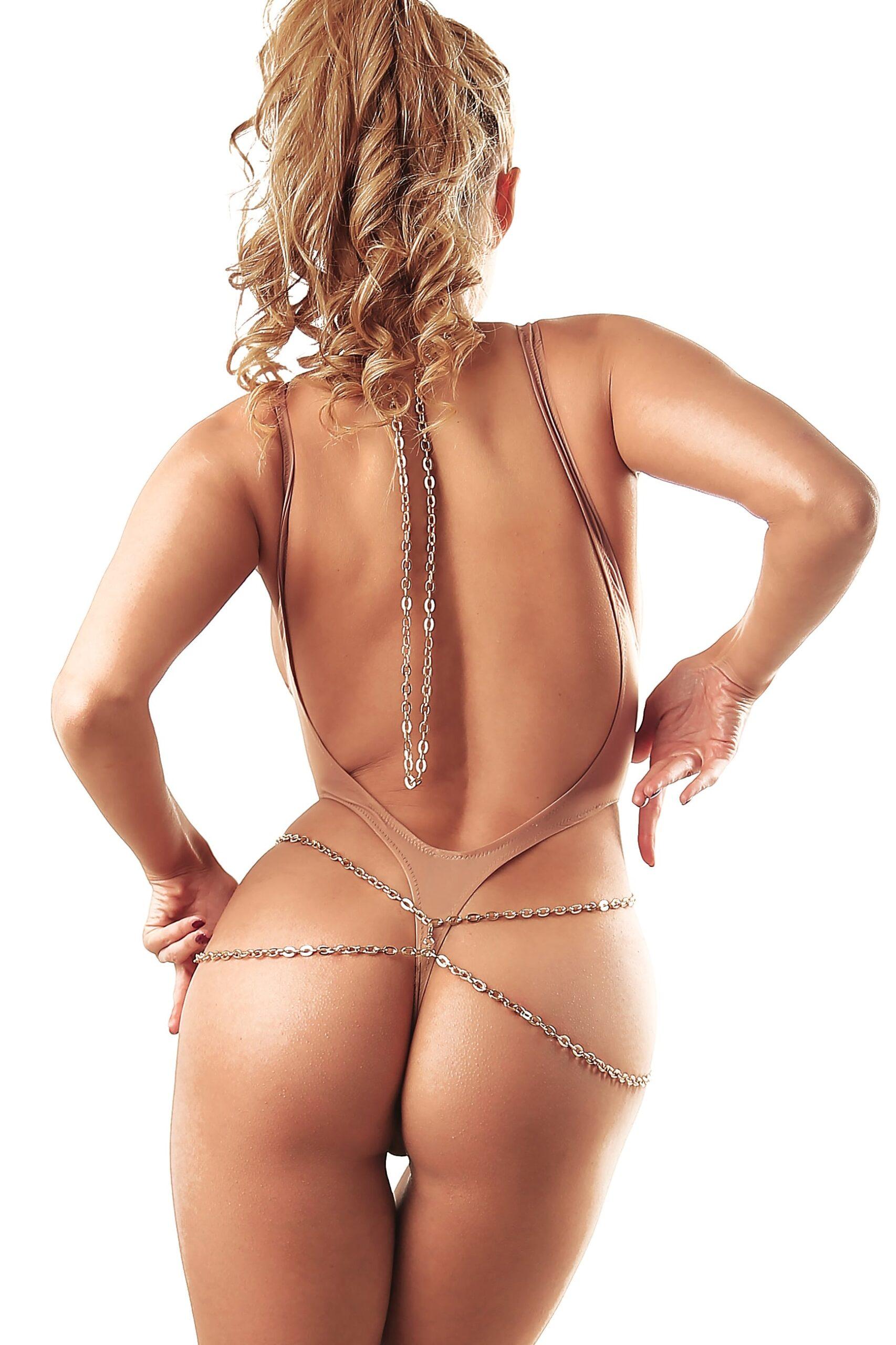 Sexy thong swimsuit High cut yoga Cute String Bodysuit String Open back One piece swimsuit Bathing suit Monokini Women's swimwear 2019