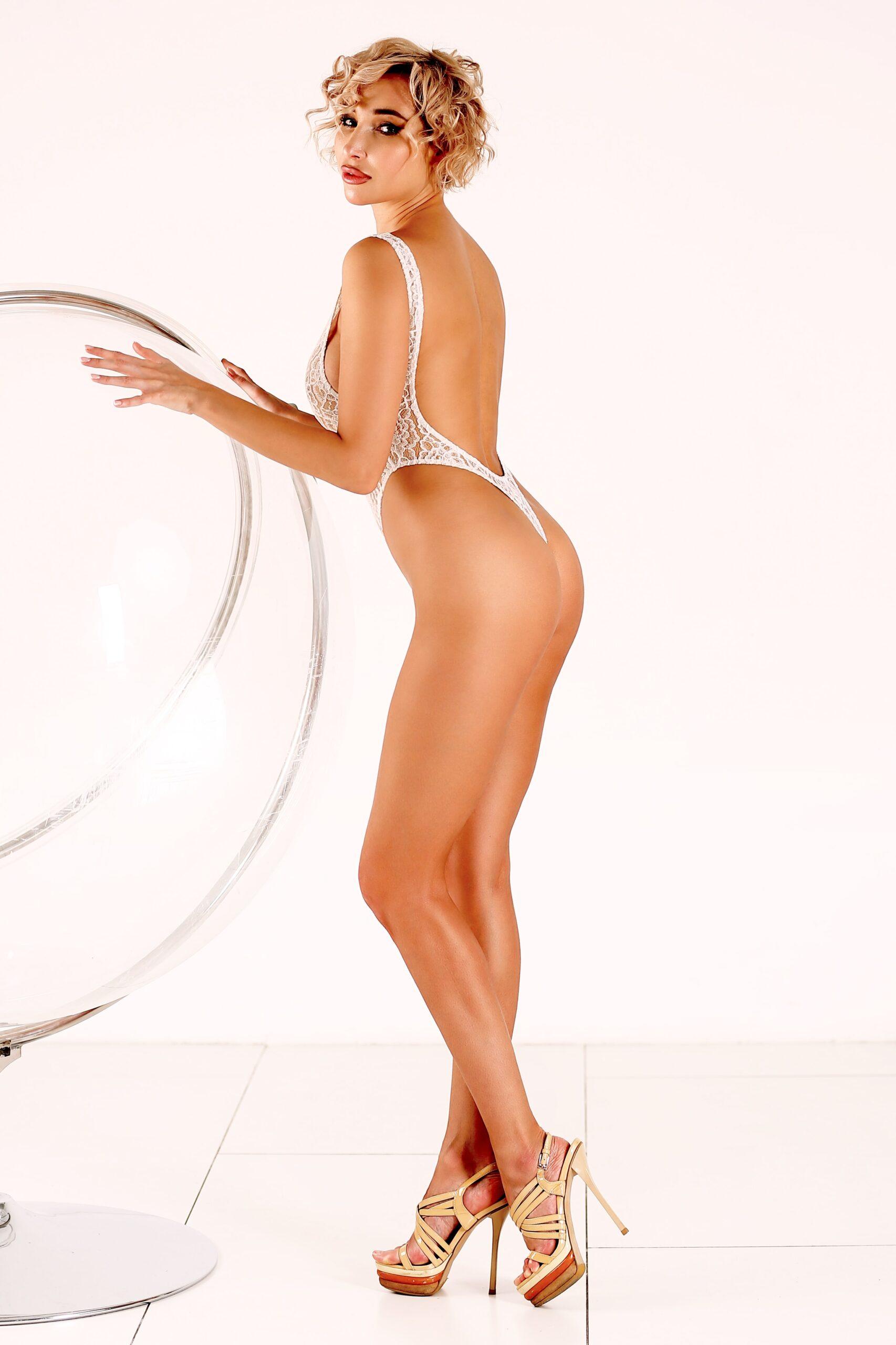See through lace lingerie Sheer bodysuit Sexy mesh thong one piece swimsuit Cheeky white monokini erotic high cut leg women underwear